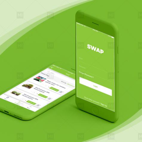Swap Mobile App Design